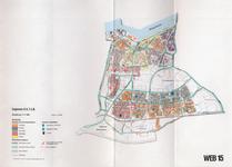 1993-2509-15 Ringband met plattegronden van de WEB-districten van de Roteb, met gegevens over de huisvuilophaaldienst, ...