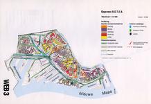 1993-2509-3 Ringband met plattegronden van de WEB-districten van de Roteb, met gegevens over de huisvuilophaaldienst, ...