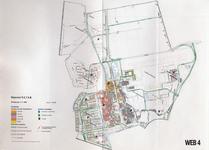 1993-2509-4 Ringband met plattegronden van de WEB-districten van de Roteb, met gegevens over de huisvuilophaaldienst, ...