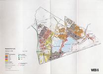 1993-2509-6 Ringband met plattegronden van de WEB-districten van de Roteb, met gegevens over de huisvuilophaaldienst, ...