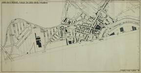 1996-1101 Plattegrond van Hillegeberg-Zuid met aanduiding van openbare scholen en de breedte der wegen.