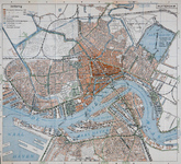 1999-500 Kaart van Rotterdam