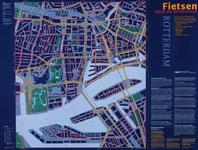 1999-532 Plattegrond van het centrum van Rotterdam bestemd voor fietsers