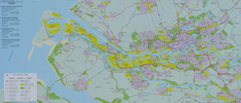 1999-551 Kaart van Rotterdam en het Europoortgebied met daarop aangegeven de vier locaties van European Bulk Services