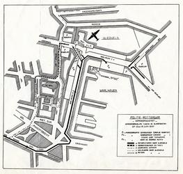 2001-207 Kaart van het Waalhavengebied en Oud-Charlois ten behoeve van de vliegfeesten op 12 en 13 juni 1937.