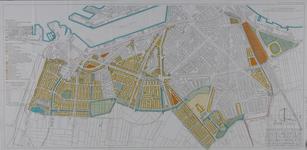 2001-49 Plattegrond met bouwplannen voor de wijken Charlois, Carnisse en De Vaan.