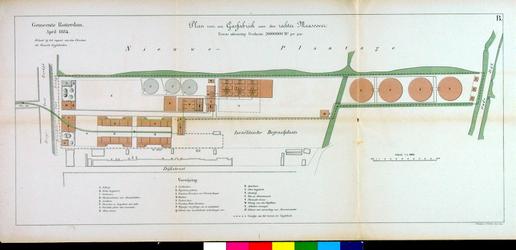 2001-670-2 Plan voor een gasfabriek aan de rechter Maasoever (Kralingen-West)