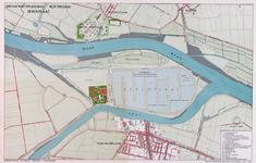 2001-707 Kaart van het bedrijf Berenplaat van de Drinkwaterleiding Rotterdam