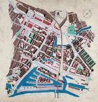 2003-1153 Axometrie van het centrum van Rotterdam