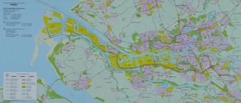 2005-1576 Plattegrond van Rotterdam en het Europoortgebied met daarop aangegeven de locaties van het ...