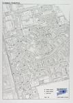 2005-1620 Plattegrond van Oosterflank met aanduiding van de locaties voor ondergrondse en bovengrondse afvalcontainers