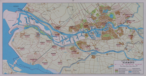2005-2489 Kaart van de gemeenten in het Rijnmondgebied