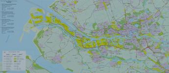 2006-758 Plattegrond van Rotterdam en het Europoortgebied met daarop aangegeven de locaties van het ...
