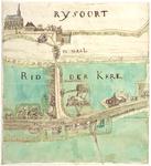 2006-847 Kaart van Ridderkerk en Rijsoord bij de Waal