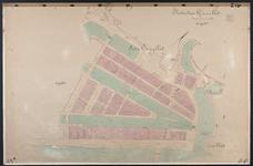 40110-Z12 Kadastrale kaart van Rotterdam, sectie O, in 1 blad: tussen Blaak en Nieuwe Maas. Het gebied wordt begrensd ...