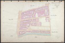 40110-Z14 Kadastrale kaart van Rotterdam, sectie U, 1e blad: rond de Warande en de Hugo de Grootstraat. Het gebied ...