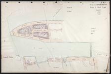 40110-Z27 Kadastrale kaart van Rotterdam, sectie Q, 1e blad: het westelijke deel van het Noordereilnad en de ...