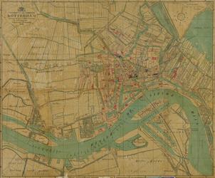 I-103-3 Plattegrond van Rotterdam