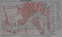 I-107 Plattegrond van Rotterdam. Het afgebeelde gebied wordt begrensd door: Delfshaven, Charlois, Crooswijk, Kralingen ...