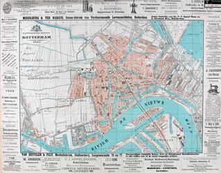 I-109-1 Plattegrond van Rotterdam.