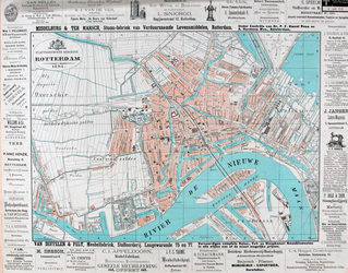 I-109-2 Plattegrond van Rotterdam.