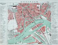 I-111 Plattegrond van het centrale deel van Rotterdam met Park, Oude Westen, Oude Noorden, Crooswijk, Kralingen, ...