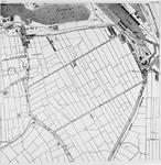 I-118-8B Kaart van de Hillepolder met het ontwerp van de Maashaven [fotokopie]