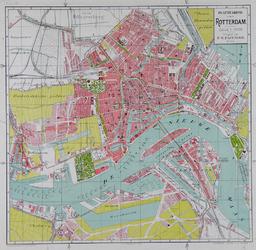 I-130 Plattegrond van de gemeente Rotterdam.