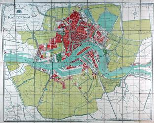 I-132-A Plattegrond van de gemeente Rotterdam
