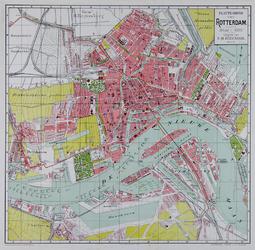 I-133 Plattegrond van Rotterdam
