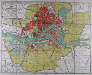 I-148-01-II Plattegrond van de gemeente Rotterdam