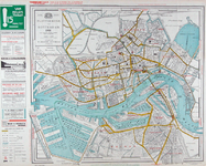 I-196 Plattegrond van Rotterdam.
