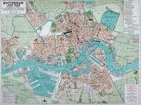 I-202 Plattegrond van Rotterdam met opgave van de woningvoorraad in 30 stadswijken