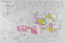 I-246 Kaart van Rotterdam en omgeving met aanduiding van bouwgebieden