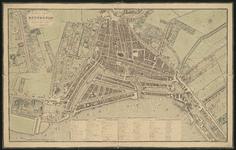 I-53-01-A Plattegrond van Rotterdam. Inzet: de Rotterdamse Schie met buitenplaatsen.