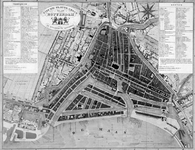 I-60 Plattegrond van Rotterdam.