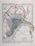 I-65 Kaart van de gemeente Rotterdam