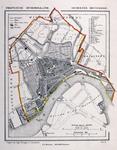 I-67 Kaart van de gemeente Rotterdam.