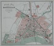 I-74 Plattegrond van Rotterdam. Het weergegeven stadsgebied wordt begrensd door het Park, de Drievriendenstraat (Oude ...