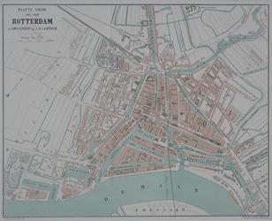 I-77 Plattegrond van Rotterdam. Het weergegeven gebied wordt begrensd door het Park, de Diergaarde, de Rotterdamse ...