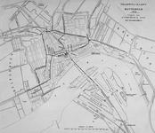 I-83 Kaart met de tramwegen te Rotterdam.