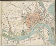 I-93-II Plattegrond van Rotterdam vervaardigd door J. Oprel.