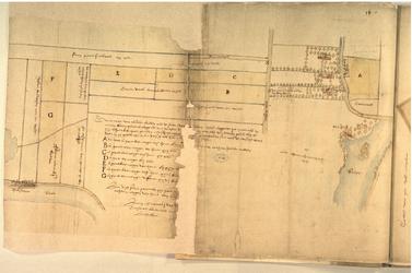 II-10-10A Plattegrond van grondpercelen in Oud Rubroek en Nieuw Rubroek