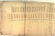 II-10-19 Plattegrond van grondpercelen gelegen aan weerszijden van de Schiedamsedijk