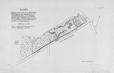 II-102 Kaart behorende bij de verkoop van het landgoed Walenburg en percelen bouwgrond aan de Beukelsdijksche Weg ...