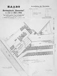 II-105 Plattegrond van de buitenplaats Zomerhof aan de oostzijde van de Schiekade