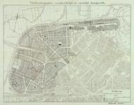 II-123 Plattegrond met plannen voor de ontwikkeling van de wijken Blijdorp en Bergpolder