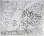 II-125-01 Kaart van een uitbreidingsplan voor Blijdorp en Overschie