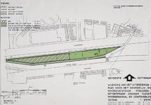 II-126-01-01 Plattegrond met bebouwingsvoorschriften voor het gebied tussen het Noorderkanaal en de Ceintuurbaan