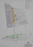 II-126-09 Kaart van het uitbreidingsplan Omgeving Rozenlaan. Het plangebied wordt begrensd door de Bergsingel, ...